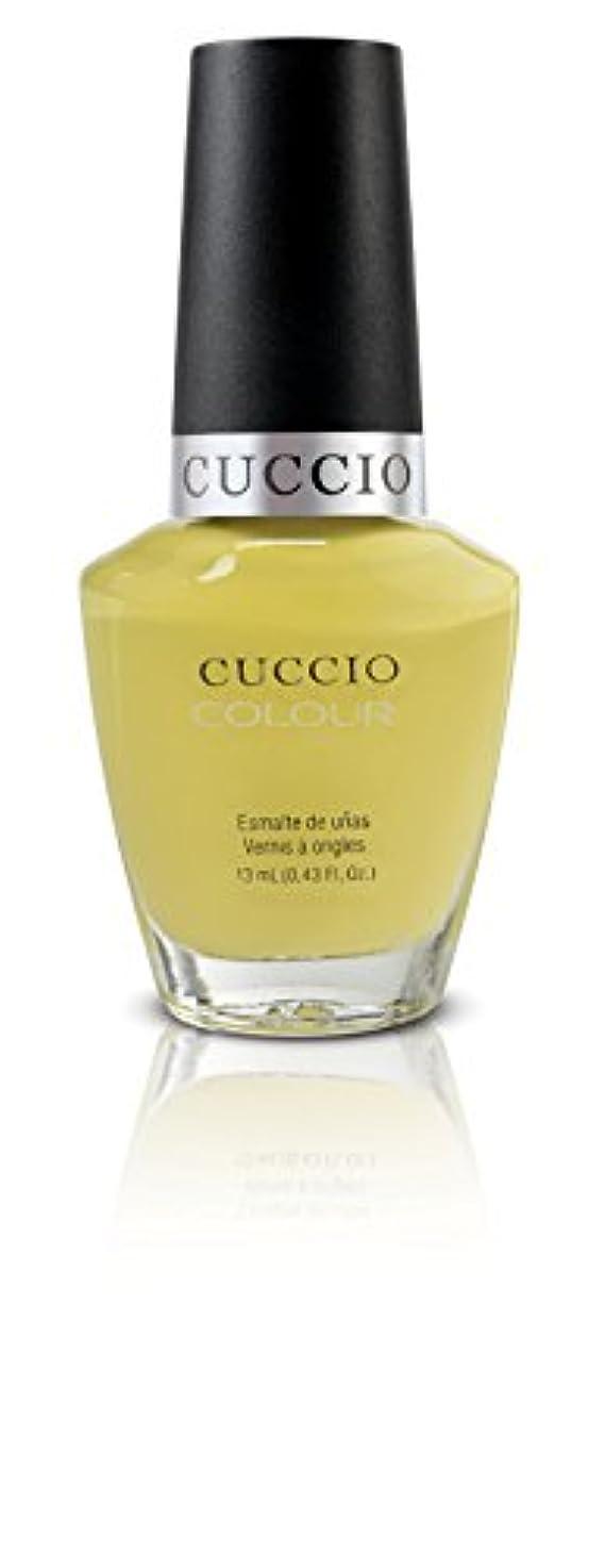 降ろす時間とともに思い出すCuccio Colour Gloss Lacquer - Good Vibrations - 0.43oz / 13ml