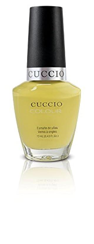 コンプライアンス誘発する棚Cuccio Colour Gloss Lacquer - Good Vibrations - 0.43oz / 13ml