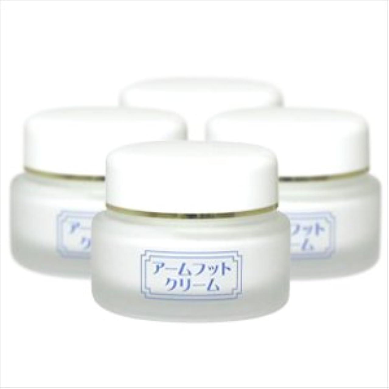 断片禁止する無秩序薬用デオドラントクリーム アームフットクリーム(20g) (4個セット)