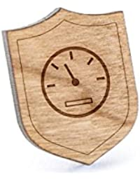 速度計ラペルピン、木製ピンとタイタック|素朴な、ミニマルGroomsmenギフト、ウェディングアクセサリー
