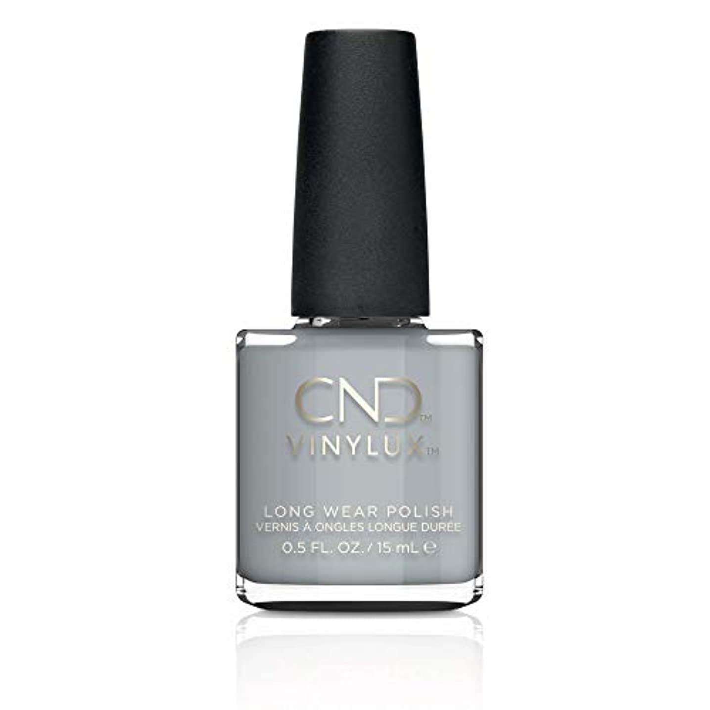 パンサーダーツ危険なCND Vinylux Nail Polish - Fall 2017 Glacial Illusion Collection - Mystic Slate - 0.5oz / 15ml