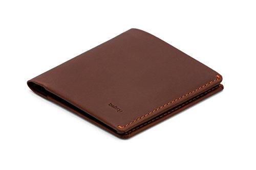 Bellroy Note Sleeve、スリムレザーウォレット、RFID選択可(カード11枚までと現金) - Cocoa