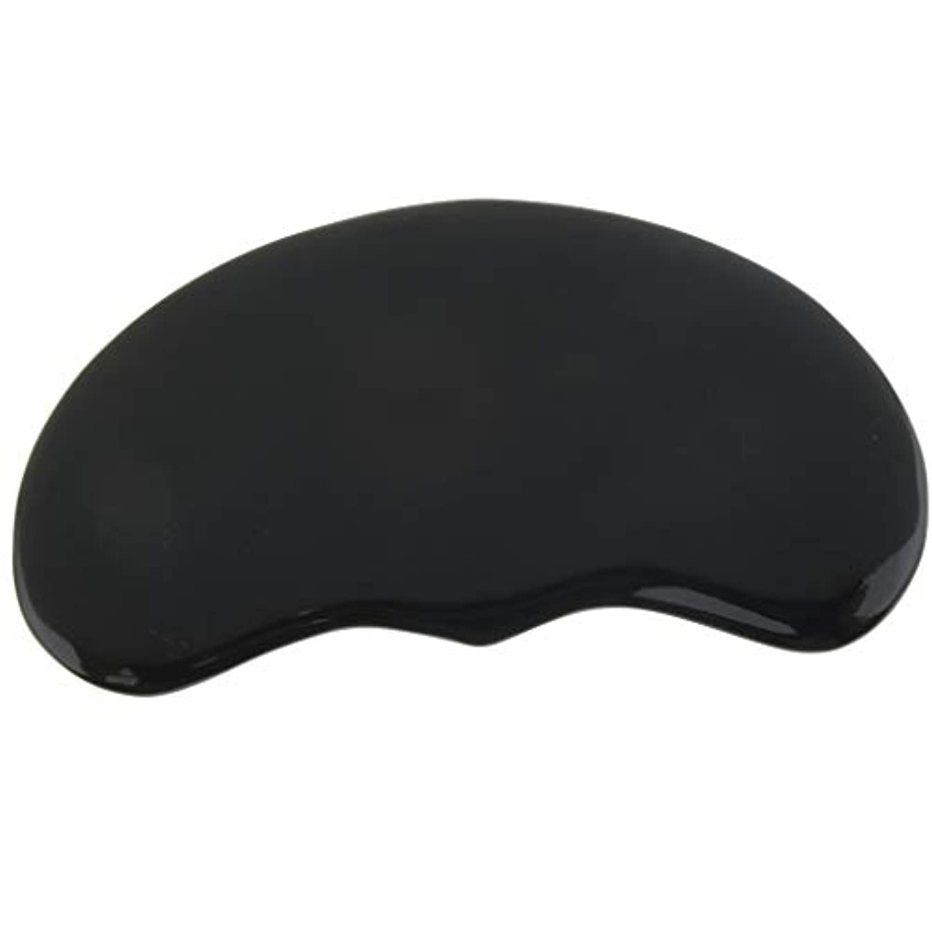 ヒット古い優先SPAサロン マッサージ かっさプレート ツボ押し 顔/体用 ブラック