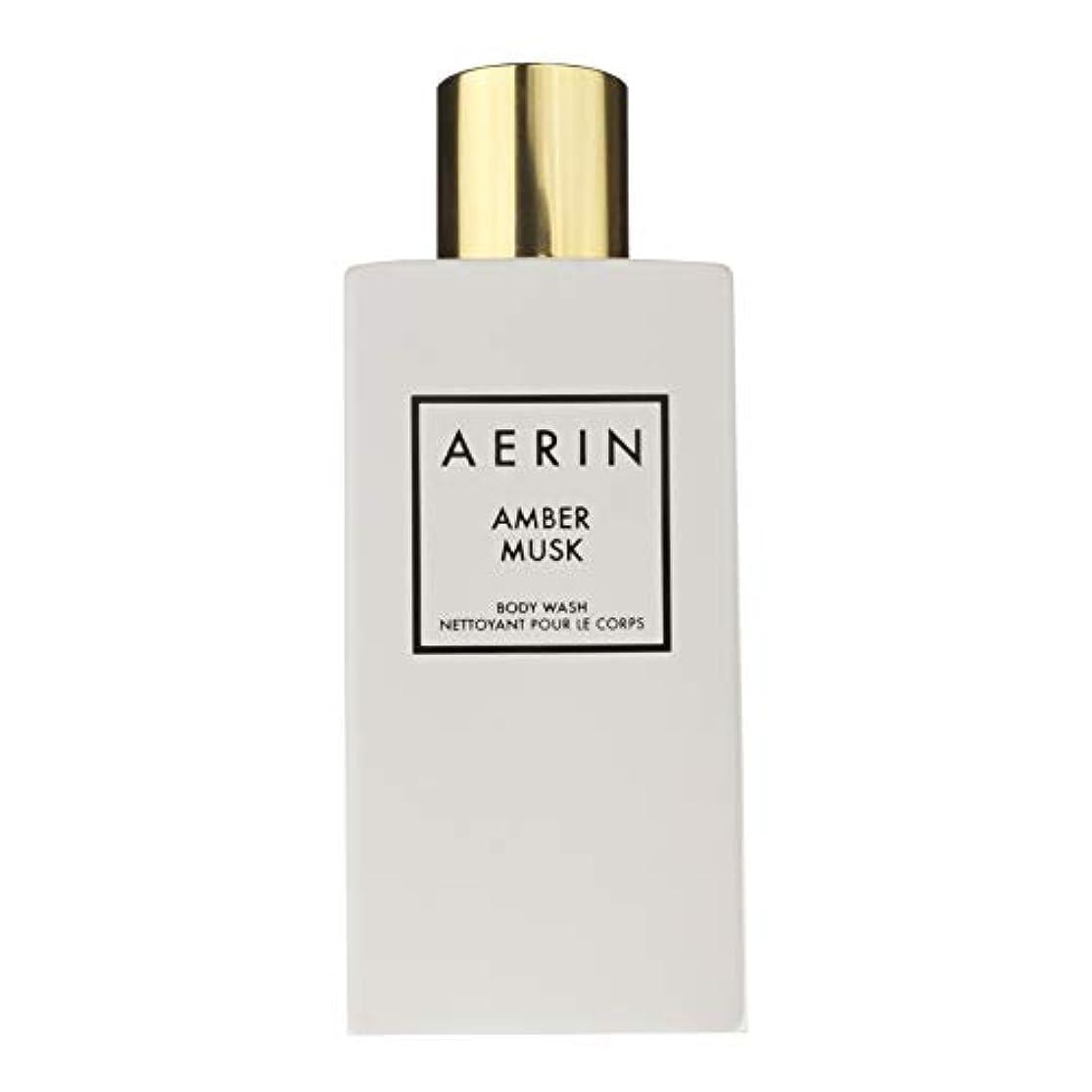 二年生傾向がある最愛のAERIN 'Amber Musk' (アエリン アンバームスク) 7.6 oz (228ml) Body Wash ボディーウオッシュ by Estee Lauder