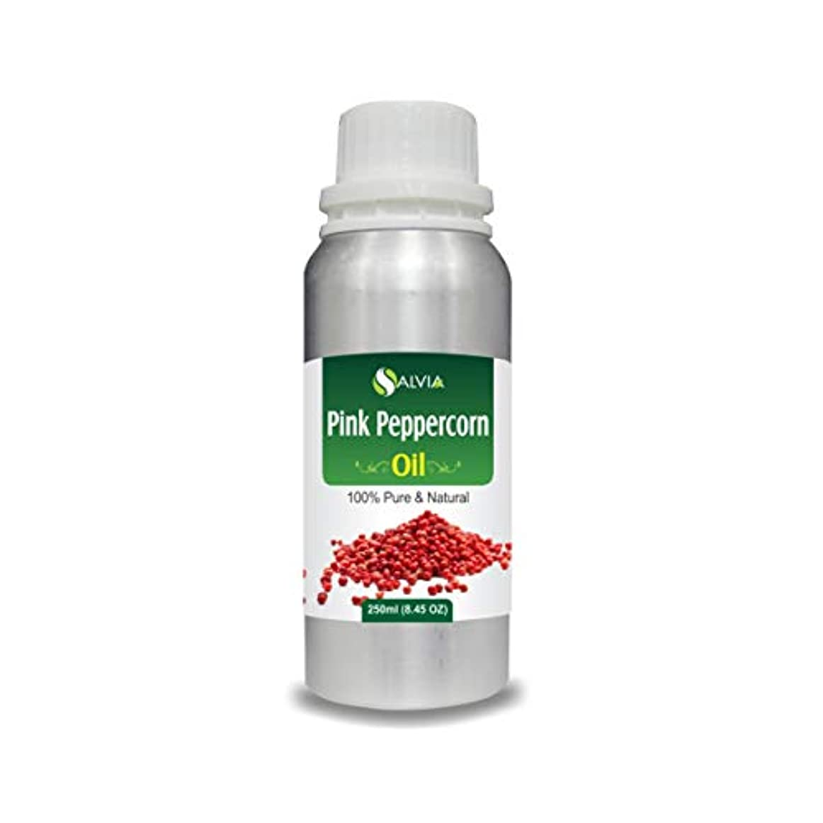 騙す現象海岸Pink Peppercorn Oil (Schinus molle) 100% Natural Pure Undiluted Uncut Essential Oil 250ml