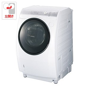 RoomClip商品情報 - 東芝 9.0kg ドラム式洗濯乾燥機【左開き】ピュアホワイトTOSHIBA ZABOON(ザブーン) TW-Z390L-W
