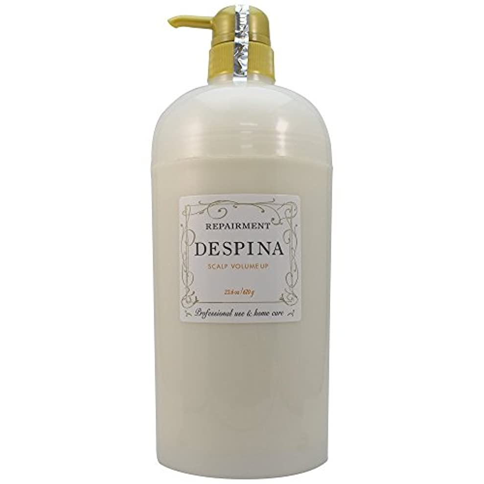 ブースト雰囲気十分に中野製薬 デスピナ リペアメント スキャルプ ボリュームアップ 670g