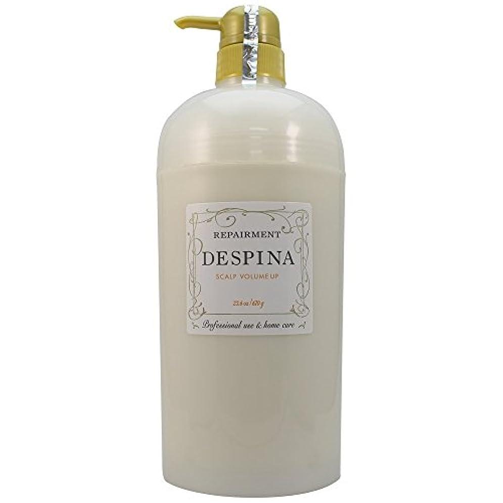 ちょうつがい広げる換気する中野製薬 デスピナ リペアメント スキャルプ ボリュームアップ 670g