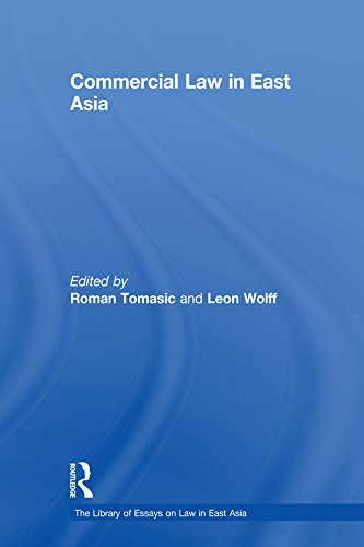 Commercial Law in East Asia (The Library of Essays on Law in East Asia) (English Edition)