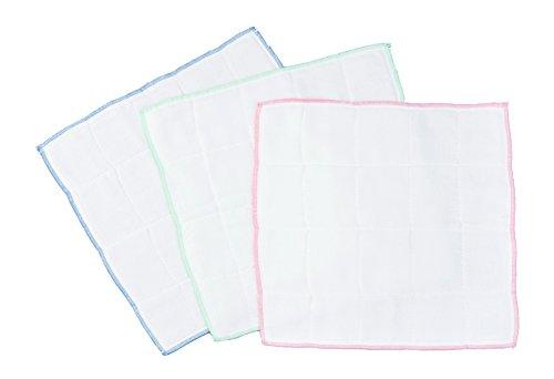 カワタキコーポレーション すぐに使える厚手綿ガーゼふきん 1セット(6枚:3枚組×2パック)