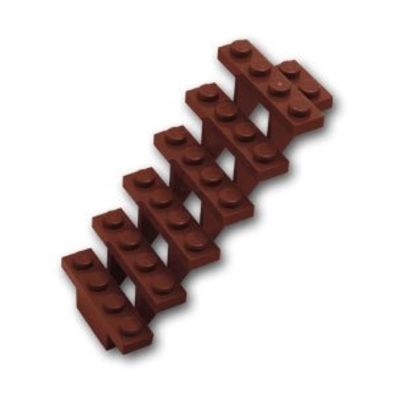 レゴブロックパーツ 階段 7 x 4 x 6:[Reddish Brown / ブラウン]【並行輸入品】