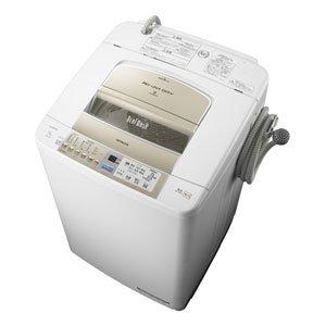 日立 全自動洗濯機 ビートウォッシュ BW-9PV-N シャンパン 洗濯・脱水 9.0kg