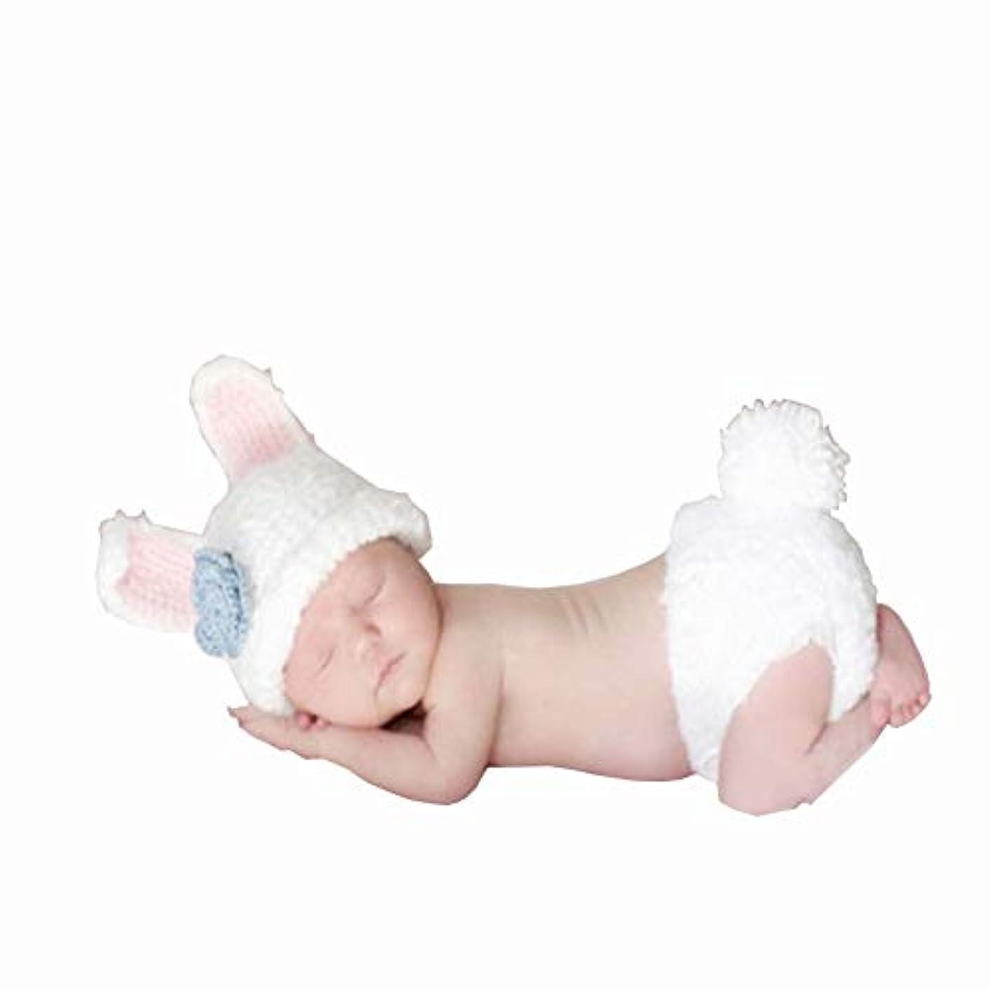 彫るに対応外交問題ベビー用着ぐるみ 寝相アート ベビーコスチューム 新生児 赤ちゃん 写真を撮る道具 毛糸 手編み