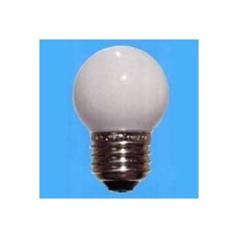 旭光 ボール球 G40 105V25W 全光束:150lm 口金:E26 ホワイト G40 E26 100/110V-25W(S)
