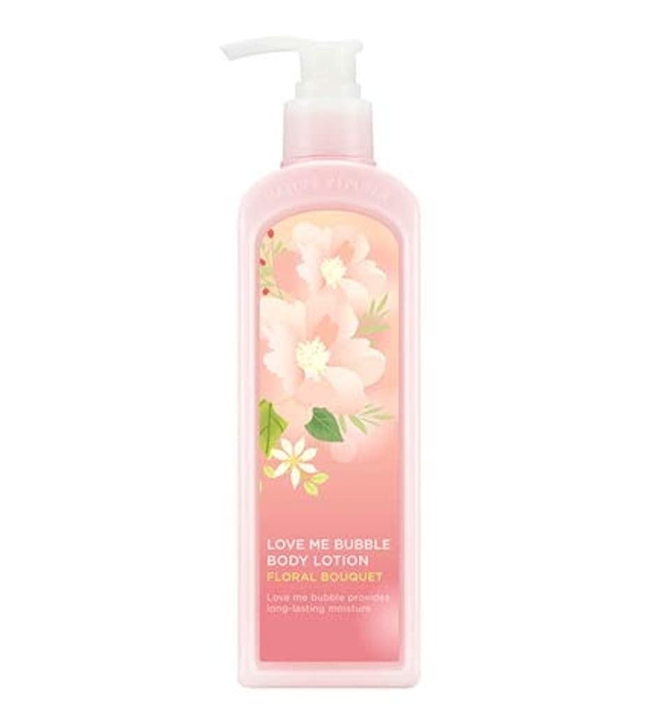 呼び起こす王朝罰するNATURE REPUBLIC Love Me Bubble Body Lotion-Floral bouquet ネイチャリパブリックラブミバブルボディーローション [並行輸入品]