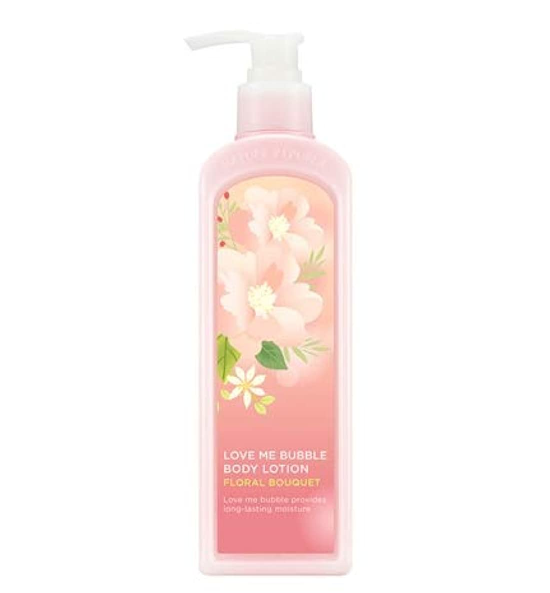 教える赤ポテトNATURE REPUBLIC Love Me Bubble Body Lotion-Floral bouquet ネイチャリパブリックラブミバブルボディーローション [並行輸入品]