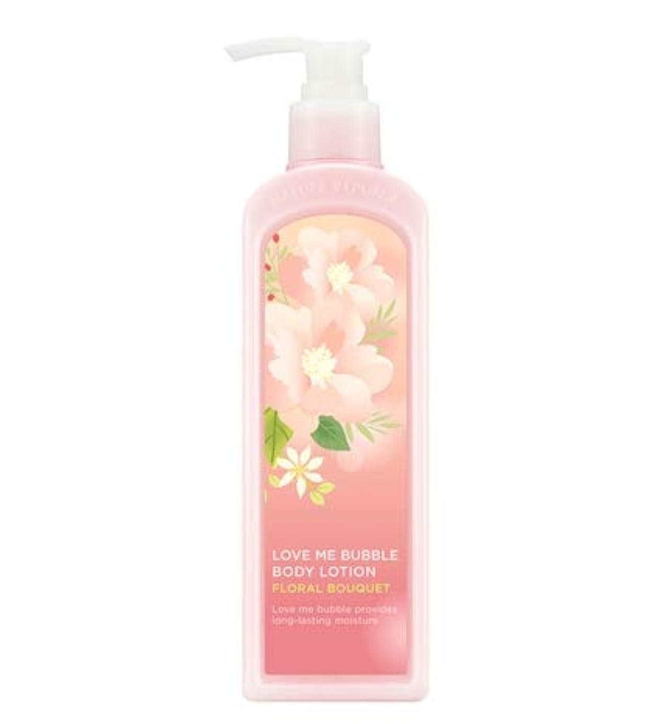 おめでとう麻酔薬フライトNATURE REPUBLIC Love Me Bubble Body Lotion-Floral bouquet ネイチャリパブリックラブミバブルボディーローション [並行輸入品]