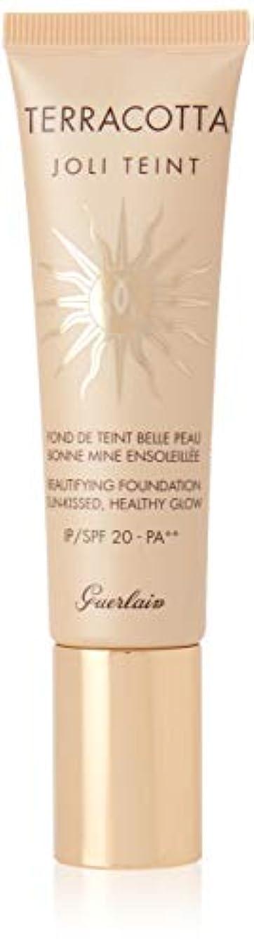 サイレント理想的まっすぐゲラン Terracotta Joli Teint Beautifying Foundation SPF 20 - # Light 30ml