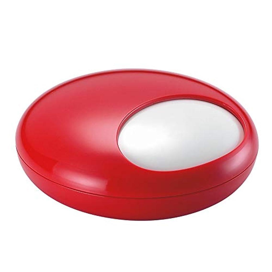 口実パーティション回路ふたの家の装飾とタバコの創造的な灰皿のための灰皿 (色 : 赤)
