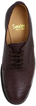 Military Derby Shoe 9071: Brown
