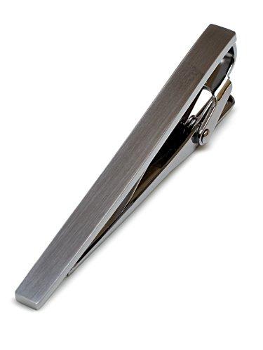 [タバラット] 日本製 ネクタイピン 真鍮製 サテーナ加工 ワニロ式 全2色 Tps-043