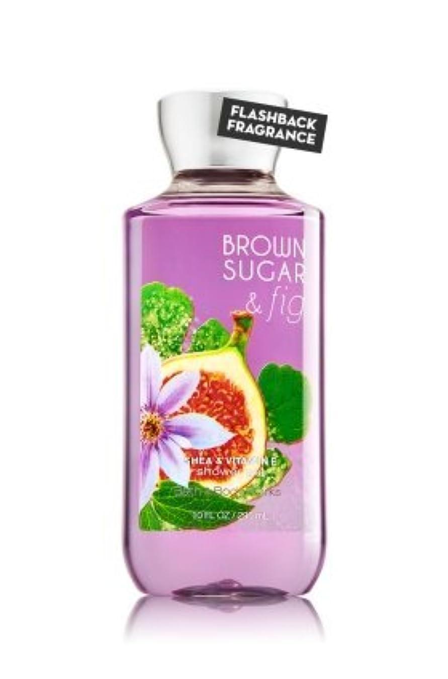 湿原逃す物理【Bath&Body Works/バス&ボディワークス】 シャワージェル ブラウンシュガー&フィグ Shower Gel Brown Sugar & Fig 10 fl oz / 295 mL [並行輸入品]