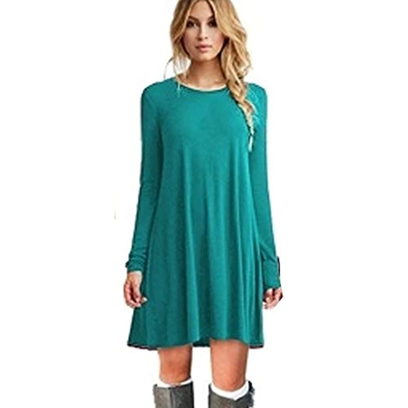敗北メガロポリス今晩MIFANルースドレス、プラスサイズのドレス、長袖のドレス、女性のドレス、秋のドレス、マキシドレス、コットンドレス