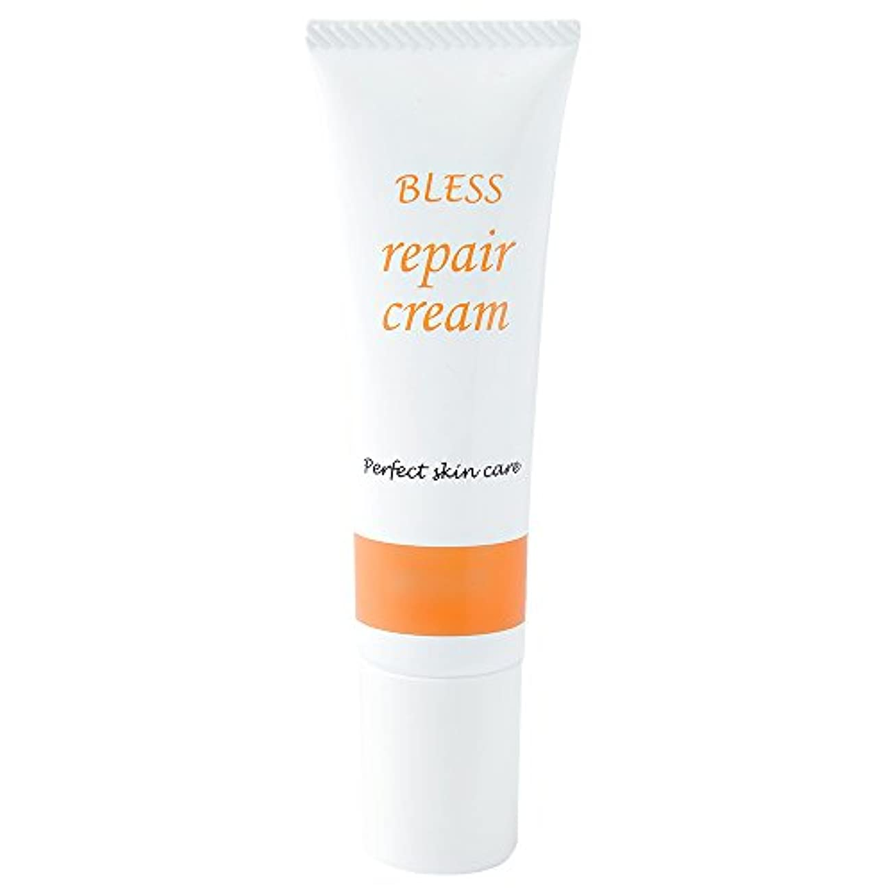 狭い話調停する【BLESS】 しわ 対策用 エイジング リペアクリーム 30g 無添加 抗シワ評価試験済み製品 日本製 美容液