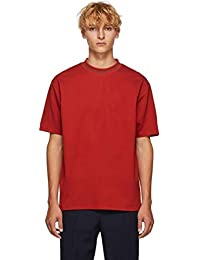 (アクネ ストゥディオズ) Acne Studios メンズ トップス Tシャツ Red Navid Logo T-Shirt [並行輸入品]
