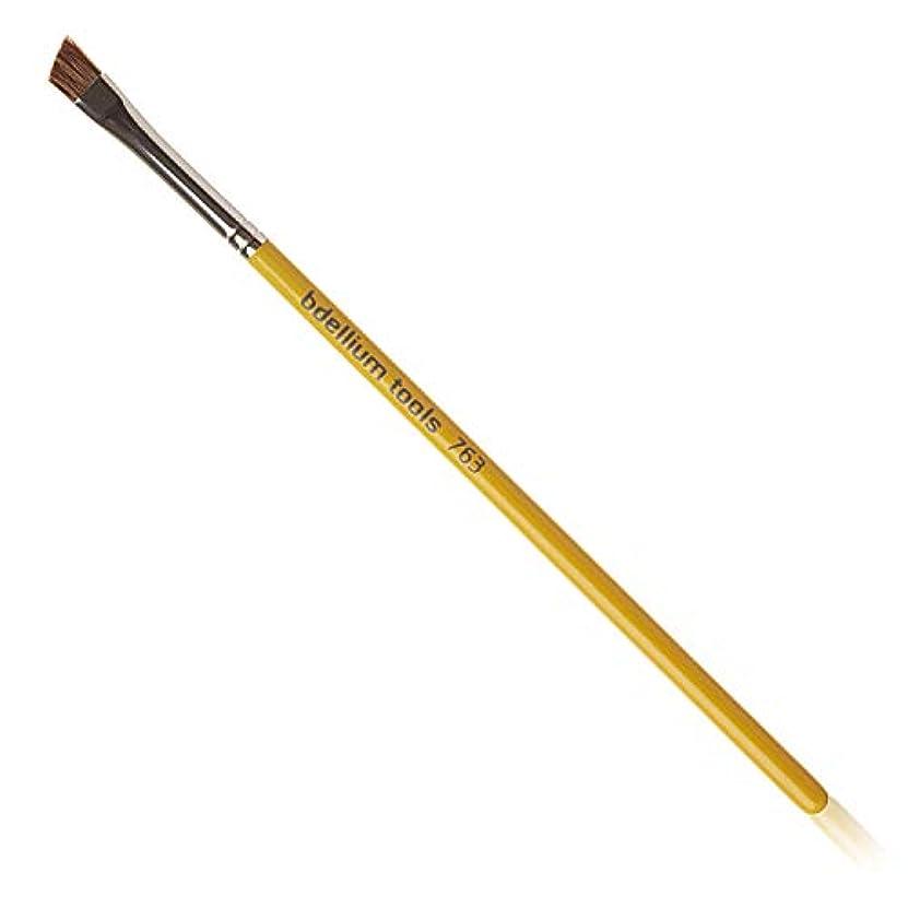 包括的臨検高めるデリウムツール Bdellium Tools スタジオライン アングル ブロウ プロフェッショナル メイクブラシ 763