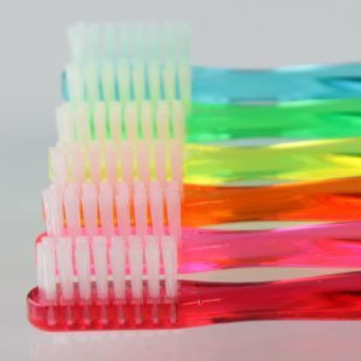 レクリエーション有罪ペレグリネーションサムフレンド 歯ブラシ #11(乳歯?永久歯の混合歯列期向け) 6本 ※お色は当店お任せです
