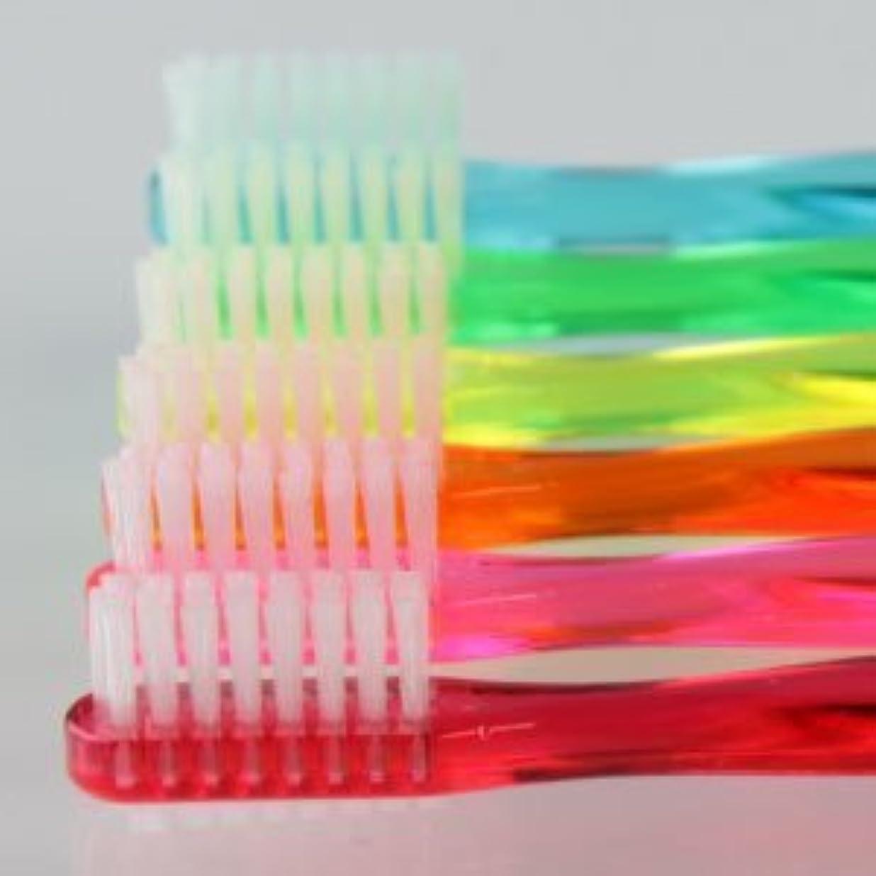 ビーズ後ろにゴミ箱を空にするサムフレンド 歯ブラシ #11(乳歯?永久歯の混合歯列期向け) 6本 ※お色は当店お任せです