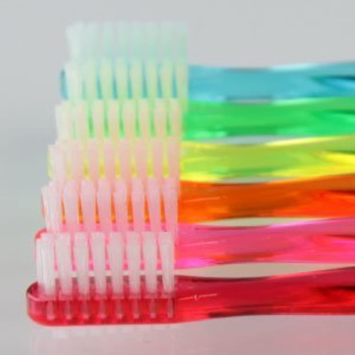 サムフレンド 歯ブラシ #11(乳歯?永久歯の混合歯列期向け) 6本 ※お色は当店お任せです