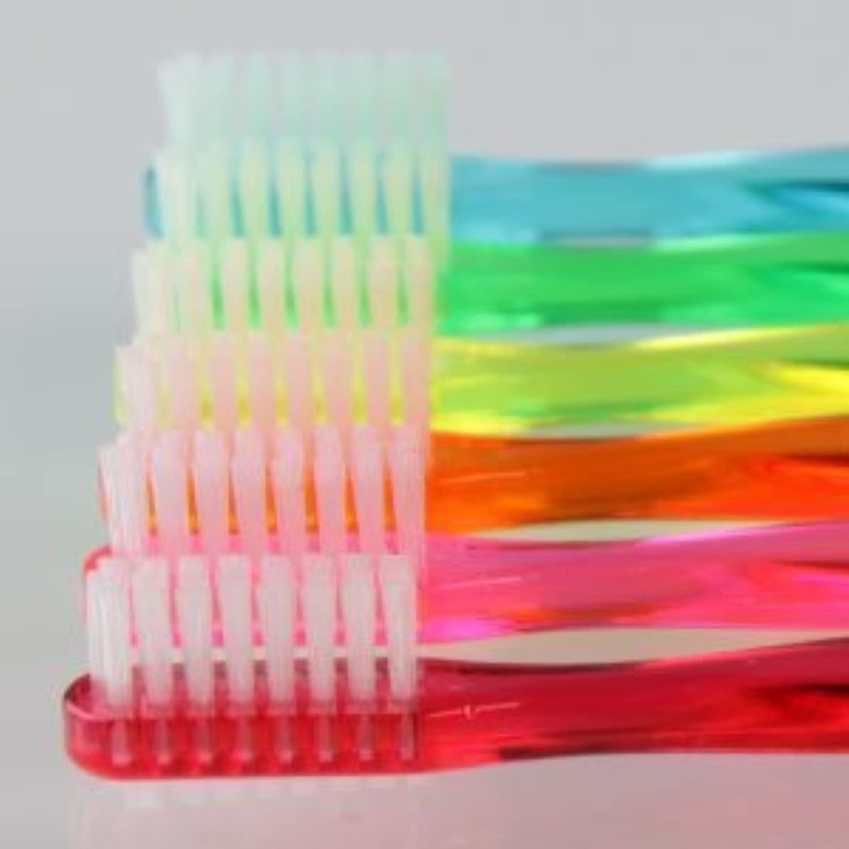 巻き戻す打撃爪サムフレンド 歯ブラシ #11(乳歯?永久歯の混合歯列期向け) 6本 ※お色は当店お任せです