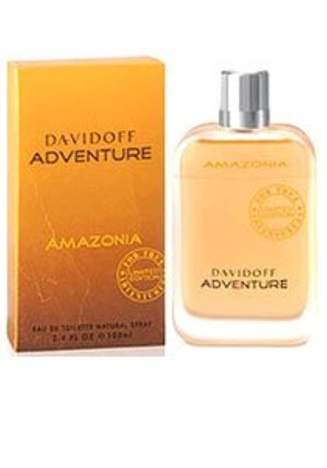 祈りおじさんボーダーAdventure Amazonia (アドベンチャー アマゾニア) 3.4 oz (100ml) EDT Spray by Davidoff for Men