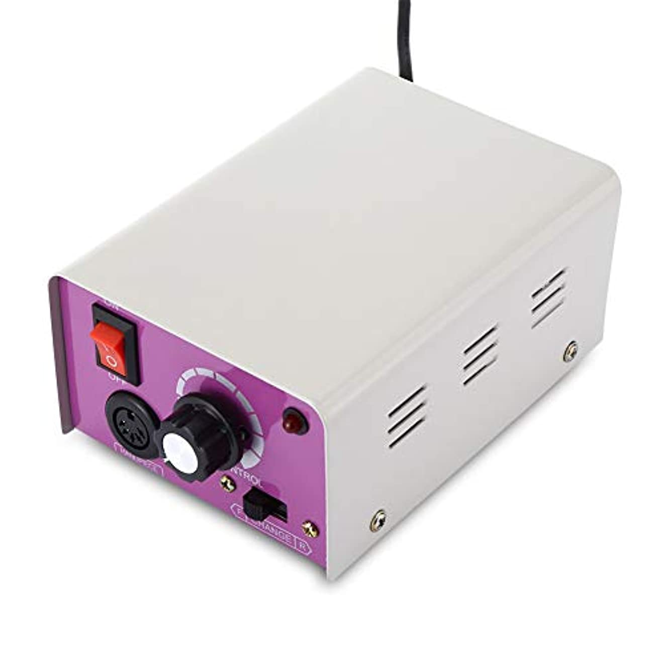 逆説熱心暖かく電動マニキュアドリルネイルペディキュアツール25000RPMファイルポリッシャー研磨グレージングマニキュアマシンセット6研削ビット