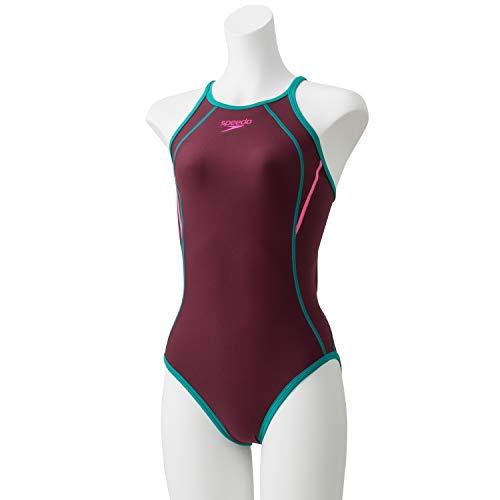 96516b38449 Speedo(スピード) 練習水着 女の子 ジュニア スーツ タッチ ターンズ 競泳 トレーニング STG01901 ヴァイオレットクォーツ×ルアン  VL 140