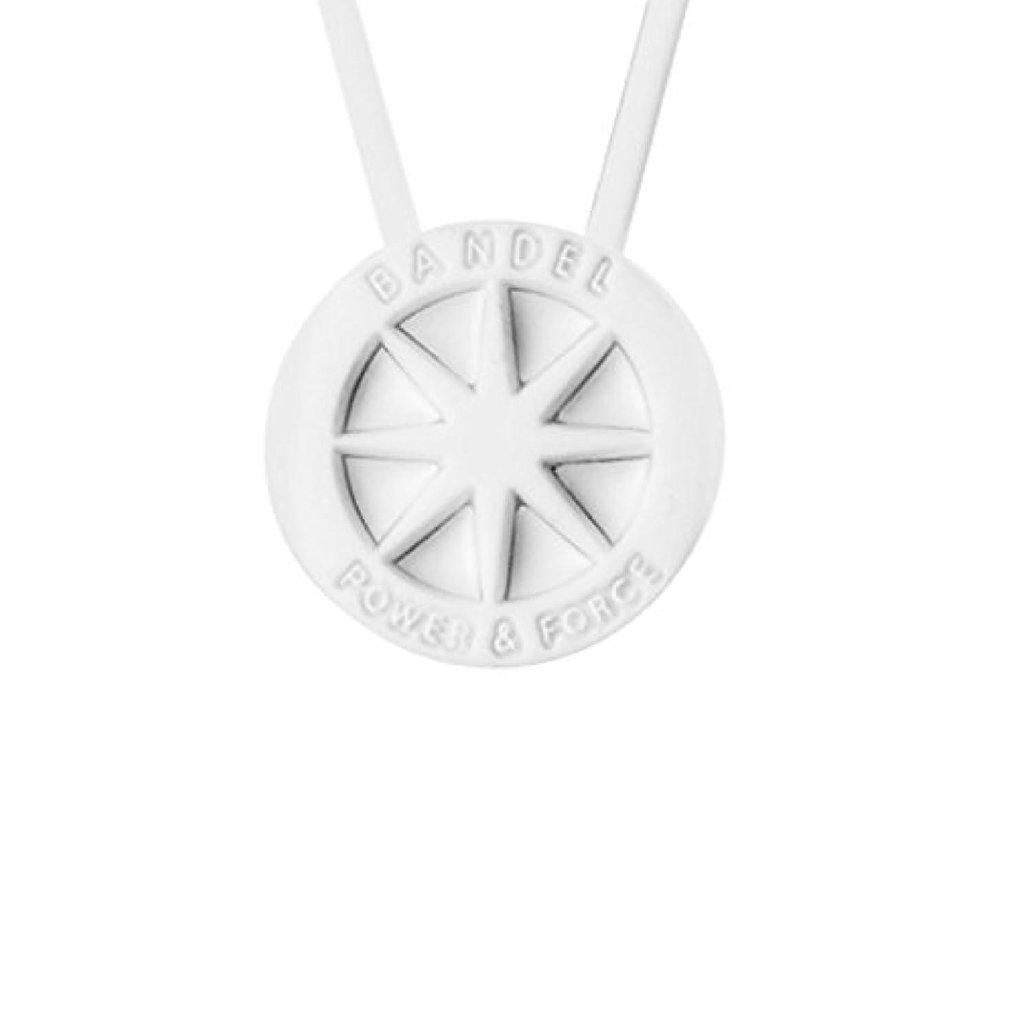 現実チャレンジ豊富なBANDEL(バンデル) ネックレス(ホワイト×ホワイト)45cm 2017年モデル