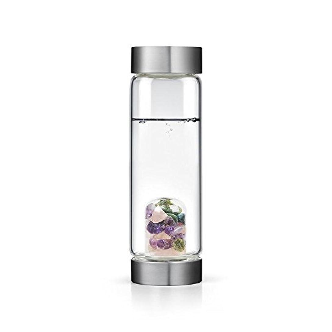 幸運なことに武器着服Beauty gem-waterボトルby VitaJuwel W / Freeカリフォルニアホワイトセージバンドル 16.9 fl oz
