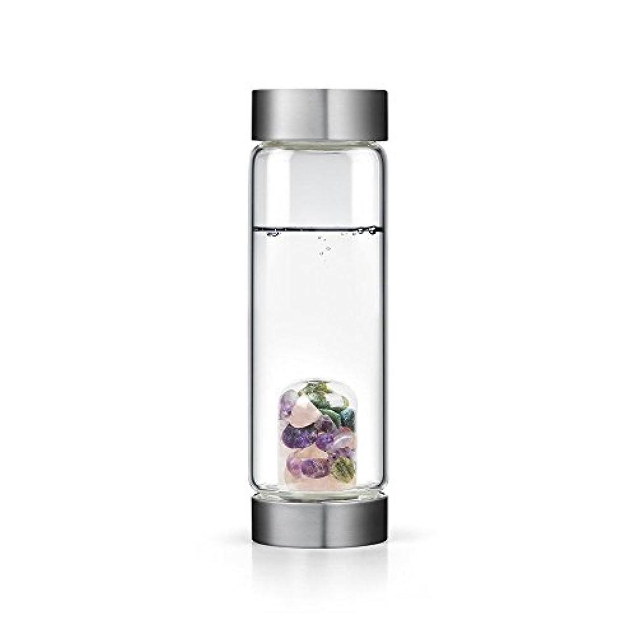 太字スリラーエンジニアBeauty gem-waterボトルby VitaJuwel W / Freeカリフォルニアホワイトセージバンドル 16.9 fl oz