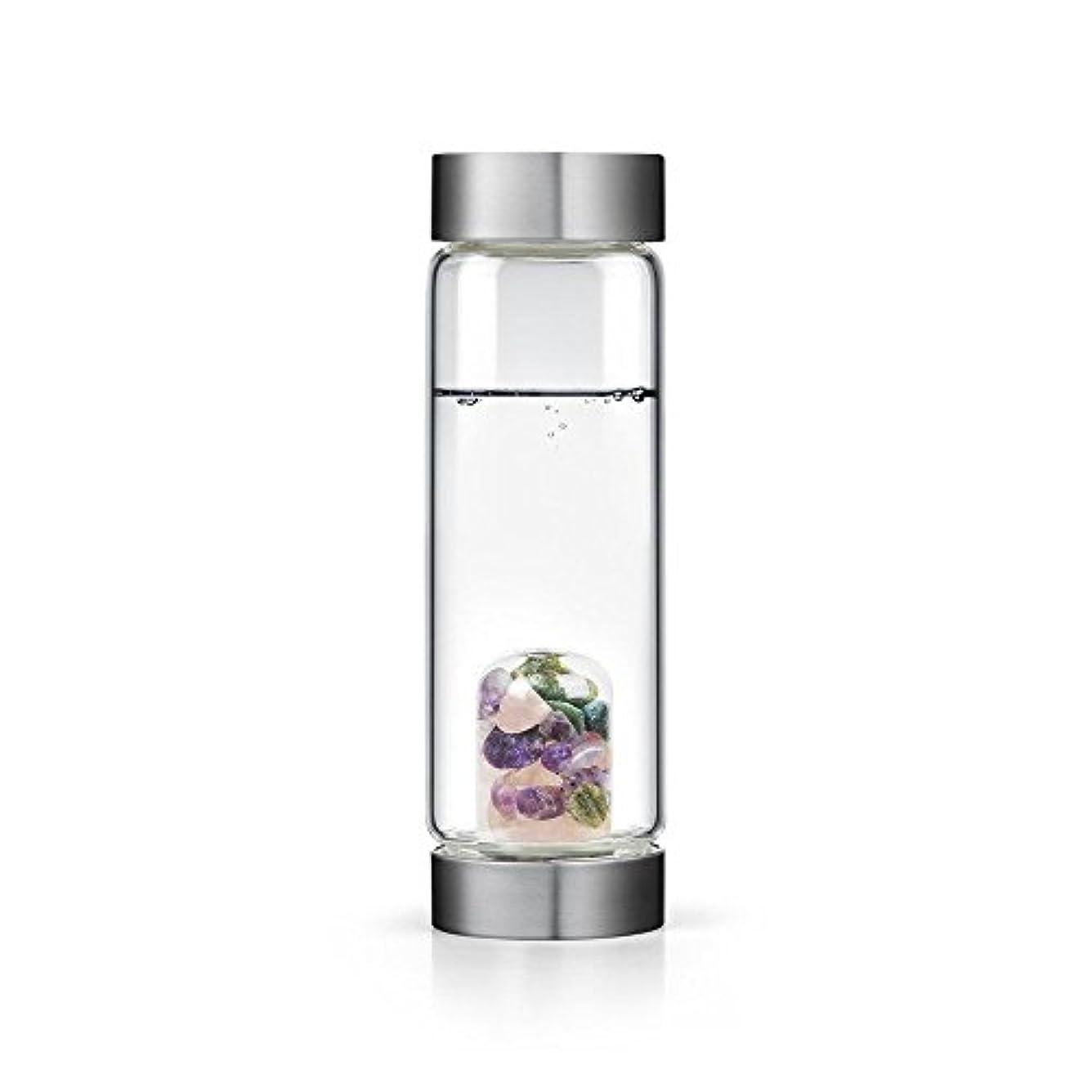 中国帝国広大なBeauty gem-waterボトルby VitaJuwel W / Freeカリフォルニアホワイトセージバンドル 16.9 fl oz