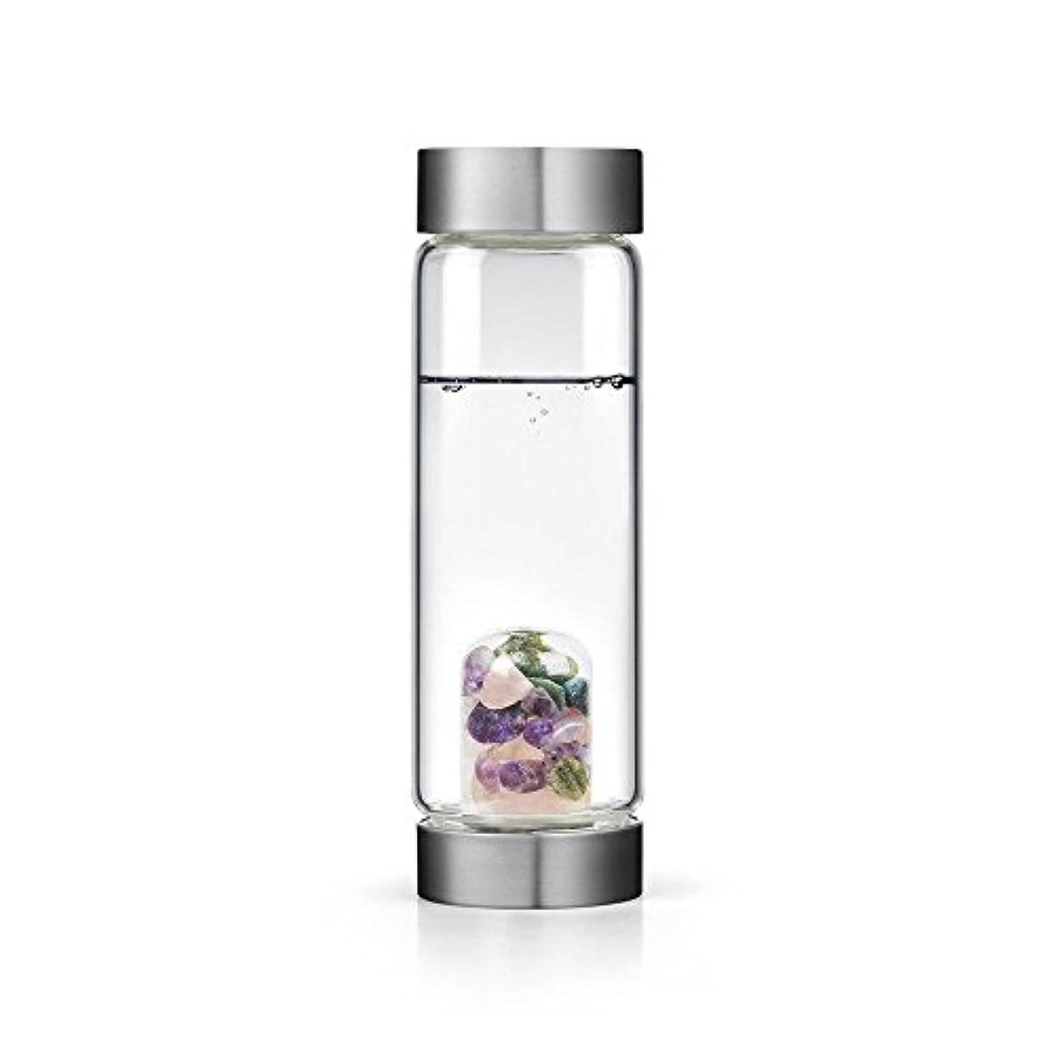 有料ペインティング議会Beauty gem-waterボトルby VitaJuwel W / Freeカリフォルニアホワイトセージバンドル 16.9 fl oz