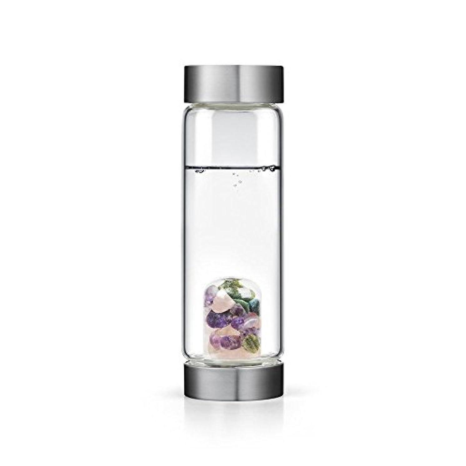 いっぱいメロディアス飛行場Beauty gem-waterボトルby VitaJuwel W / Freeカリフォルニアホワイトセージバンドル 16.9 fl oz