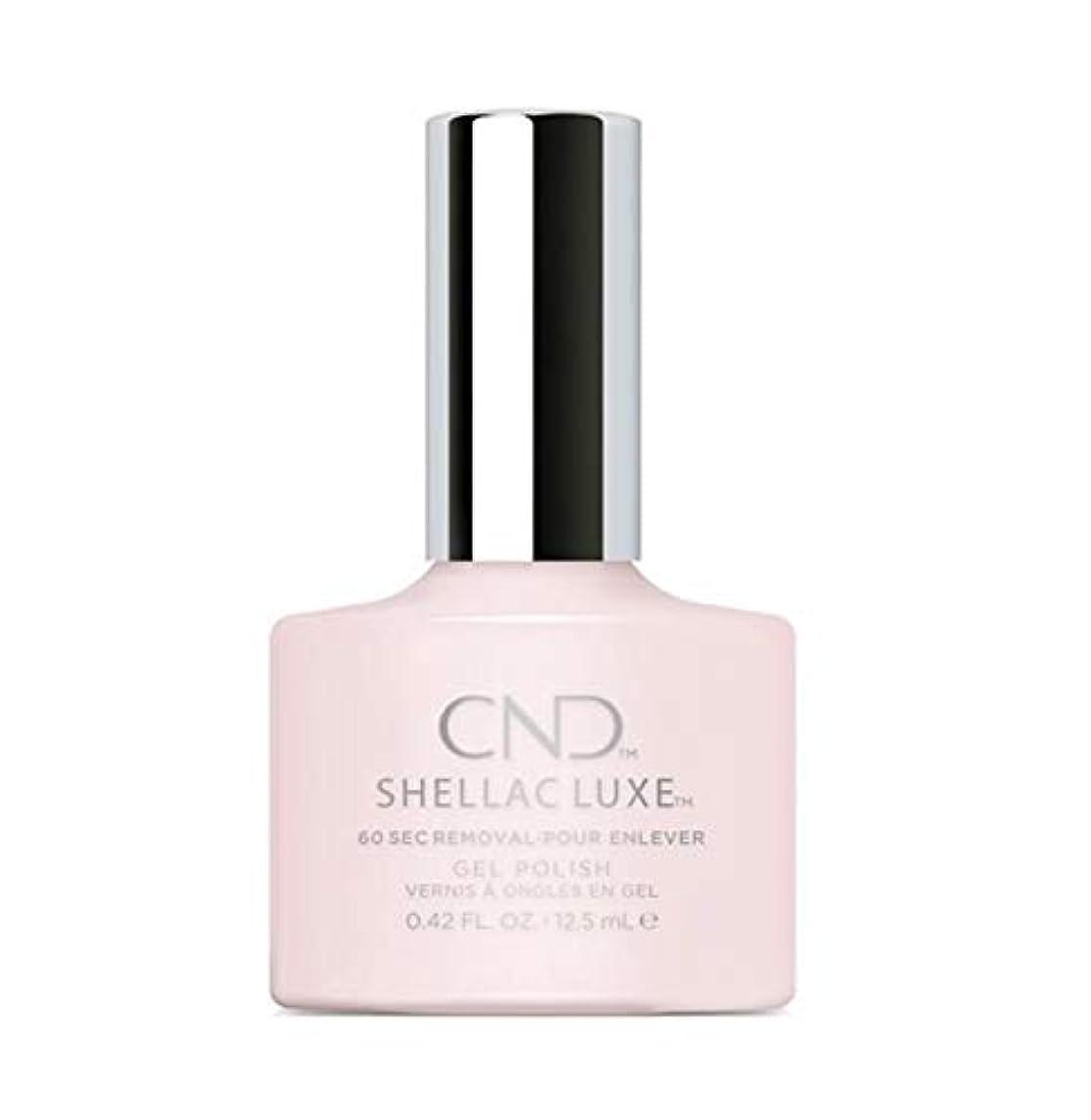 潜む生じる小麦粉CND Shellac Luxe - Romantique - 12.5 ml / 0.42 oz
