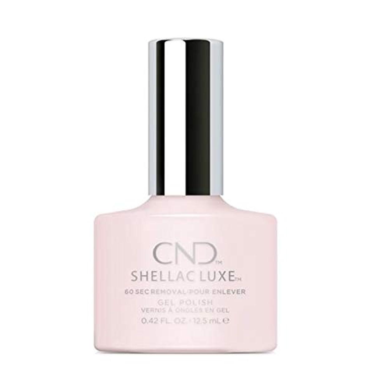 ほこり知っているに立ち寄る競争CND Shellac Luxe - Romantique - 12.5 ml / 0.42 oz