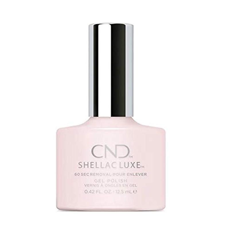 睡眠アンペアただCND Shellac Luxe - Romantique - 12.5 ml / 0.42 oz