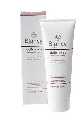 Blancy【BTデリスレクリーム】3つのお肌引き締め成分配合 マッサージクリーム 天然オイル保湿成分たっぷり配合 スルスル伸びる 120g 日本製