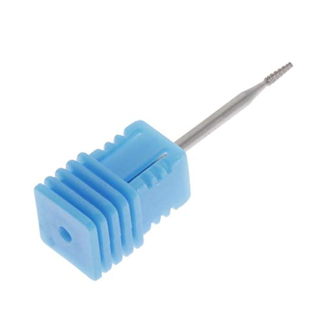竜巻パネル音節Perfeclan ネイル グラインド ヘッド ドリルビット ネイルビット 爪磨き 爪やすり ネイルケアツール 全3カラー - 01