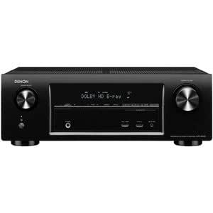 DENON AVサラウンドレシーバー 5.1ch AirPlay/ネットワーク対応 ブラック AVR-X1000-K