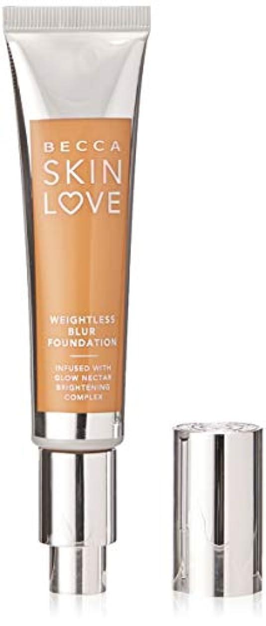 はぁ神秘的な財政Skin Love Weightless Blur Foundation - Amber